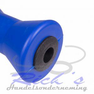 Bootrol / kielrol 195 mm blauw Heavy Duty 2