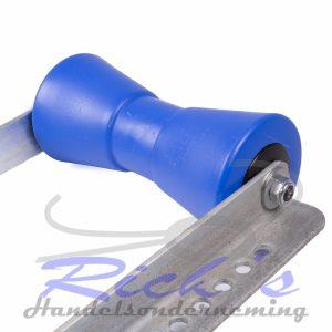 Bootrol-kielrol 200×85 mm op steun 25 cm 2