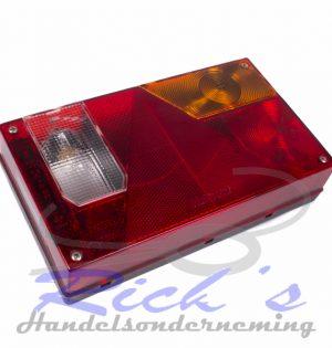 Achterlicht multipoint i connector rechts met achteruitrijlamp