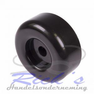 Bootrol eindconus / eindkap zwart 88x35x14mm