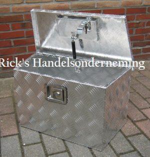 Opbergbox 600x500x350x300mm aluminium