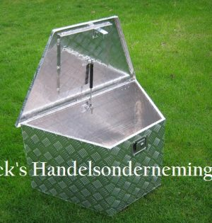 Opbergbox 864x406x462x457mm aluminium