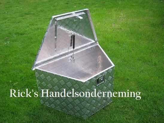 Opbergbox 864x406x462x457mm aluminium