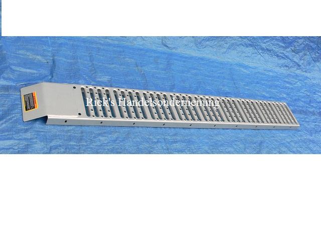 Oprijplaat 180x23 staal 200kg