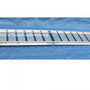 Oprijplaat opklapbaar 180x29 aluminium 200kg