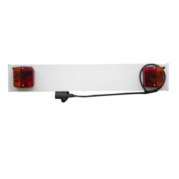 Verlichtingsbalk 80cm met 1 meter kabel voor fietsendrager for Ladenblok 1 meter breed